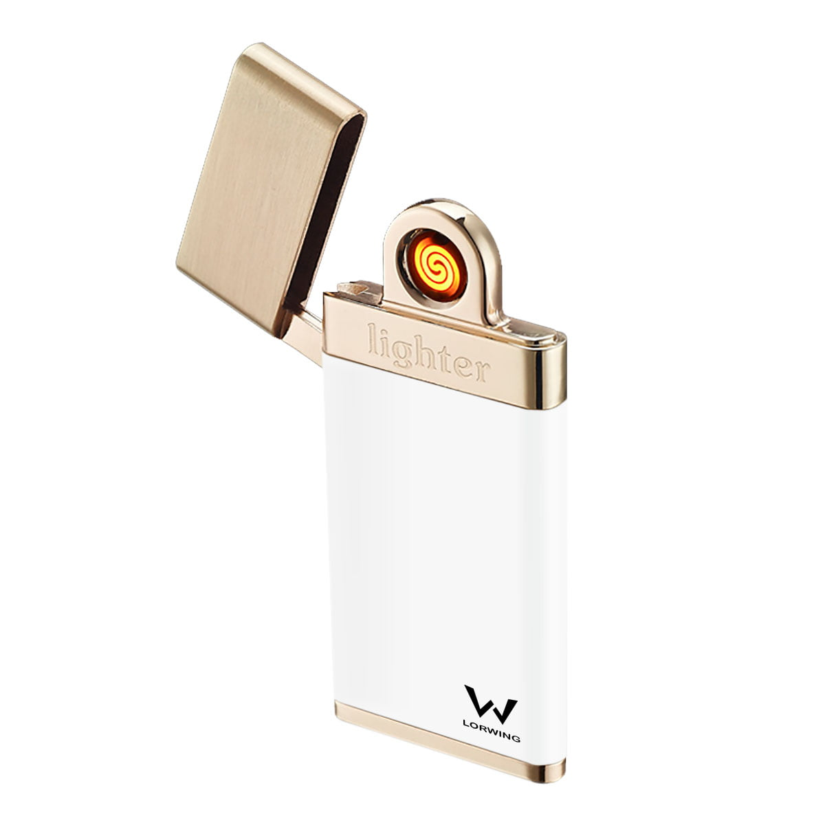 LORWING SlimElectric Lighter CG3 White